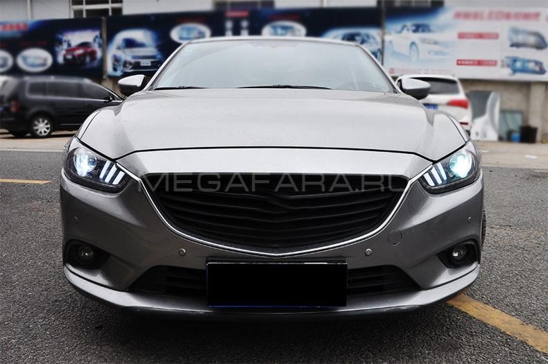 Передние фары Мазда 6 2013-2015 V6 type