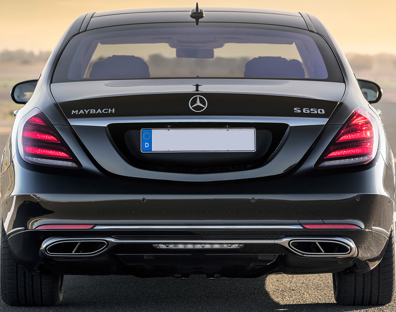 Обвес Mercedes Benz S-class w222 в стиле MAYBACH V2 type [ПОЛНЫЙ КОМПЛЕКТ: передний+задний бампер; решетка; + все необходимые аксессуары и насадки]