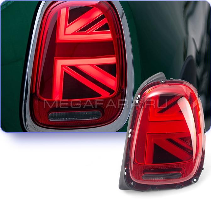 Задние фонари Мини Купер F55 F56 Union Jack 2013-2018