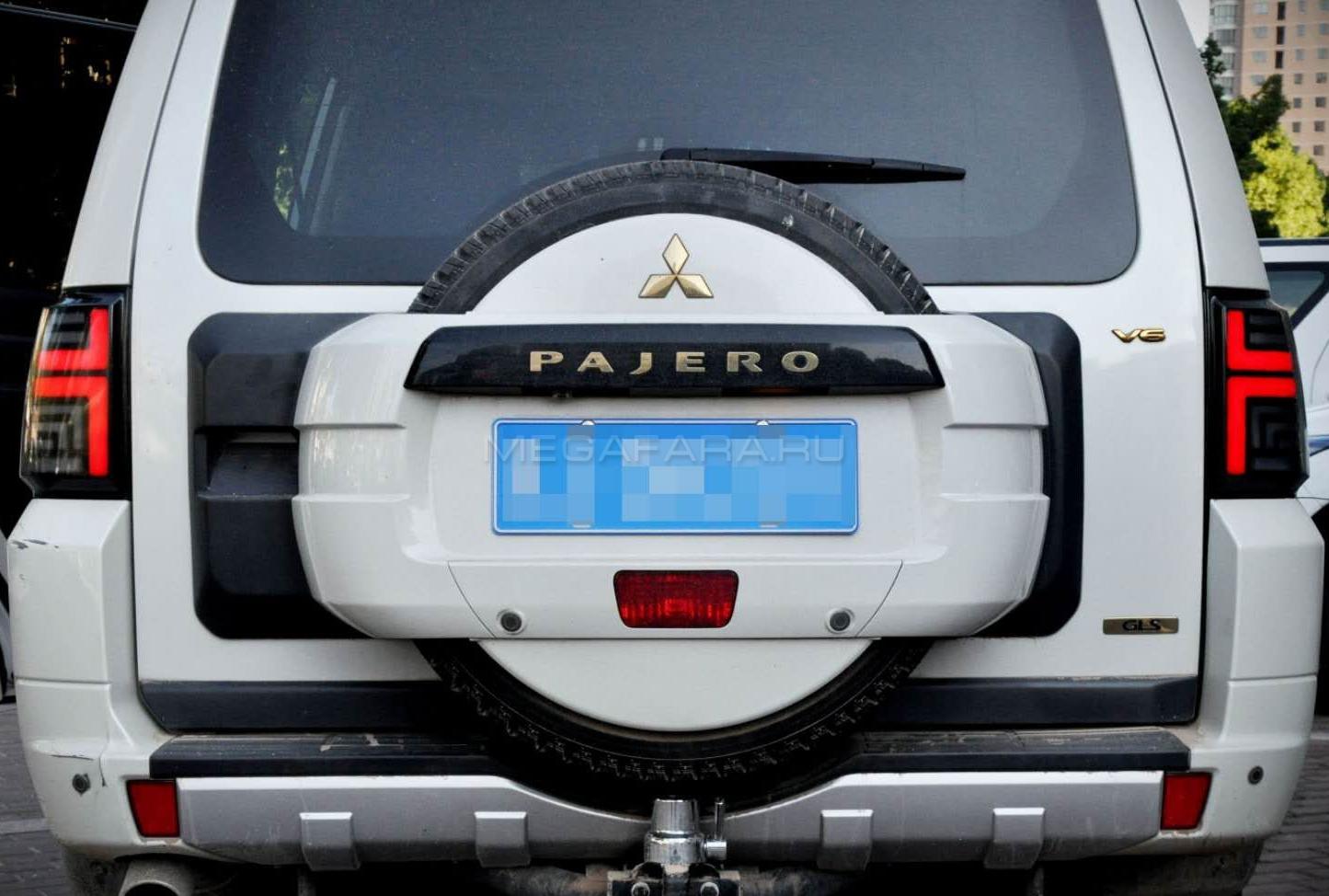 Задние фонари Мицубиси Паджеро 2006 - 2020 V4 type [Комплект Л+П; Светодиодные; Динамичный поворотник]