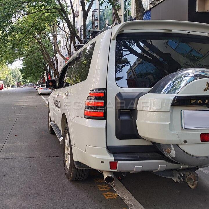 Задние фонари Мицубиси Паджеро 4 2006 - 2020 V2 type [Комплект Л+П; Светодиодные; Динамичный поворотник]