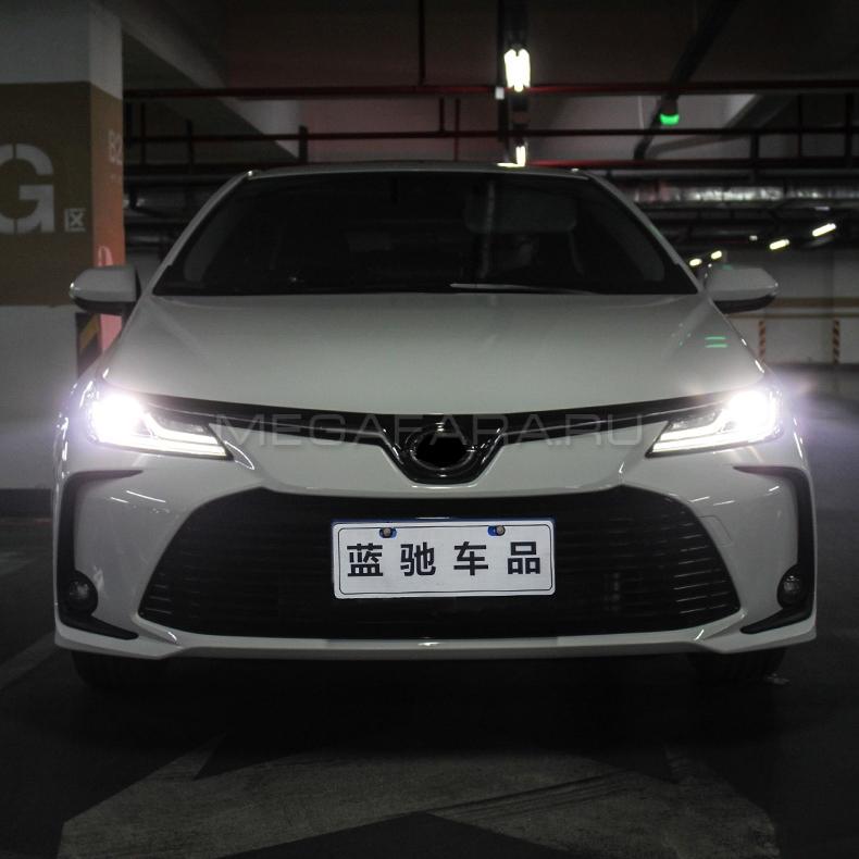 Передние светодиодные фары Тойота Королла Е210 2019-2021 V1 type