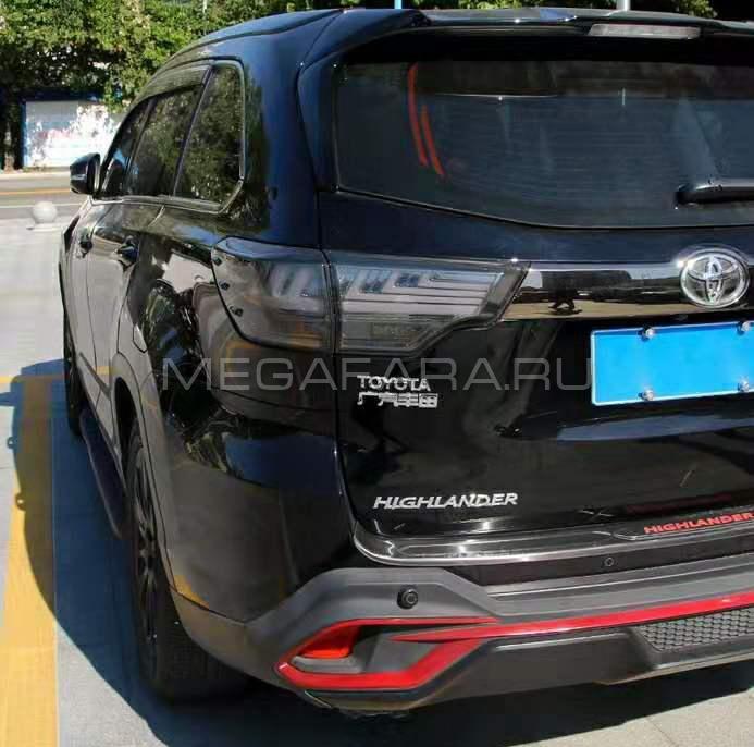 Задние фонари Тойота Хайлендер XU50 2014-2016 V14 Type ДЫМЧАТЫЕ