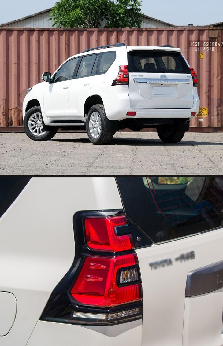 Задние фонари Тойота Ленд Крузер Прадо 150 2010 - 2017 V4 type [Комплект Л+П; Светодиодные; Динамичный поворотник]