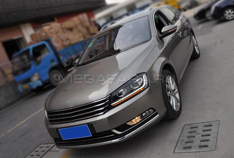 Передние фары VW Пассат Б7 2011-2014 V14 Type