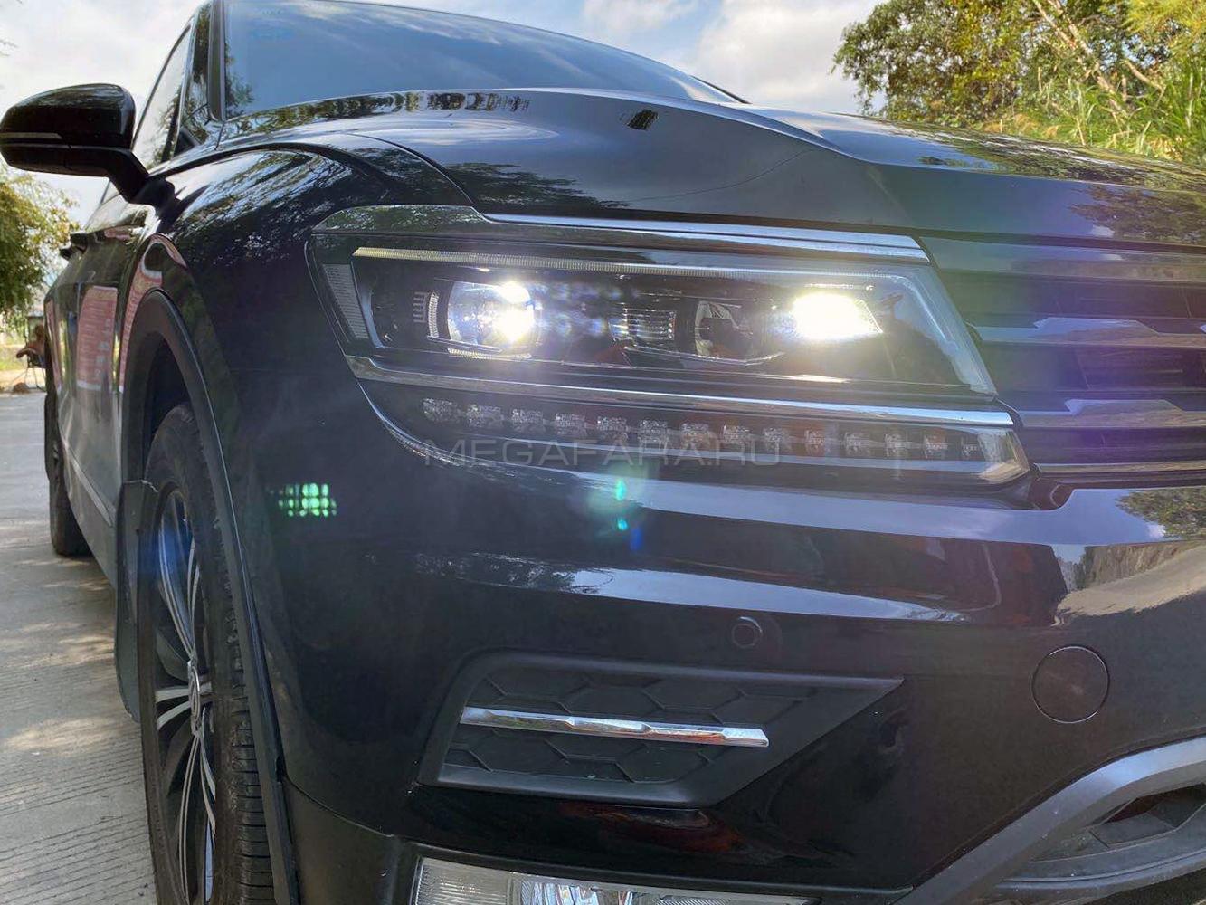 Передние фары VW Тигуан 2017-2019 V12 type [ОРИГИНАЛЬНЫЕ комплектующие; Комплект Л+П; ходовые огни; FULL LED]